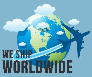 we ship worldwide - FREE