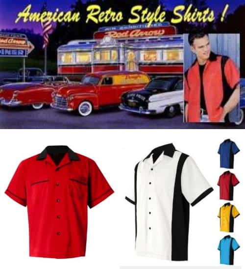 All American retro shirts collection