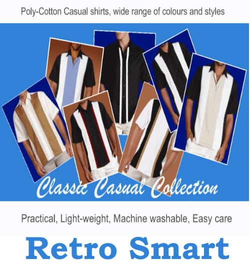 Retro shirts the causal collection