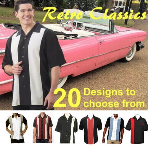 Retro Bowling Shirts Custom Made